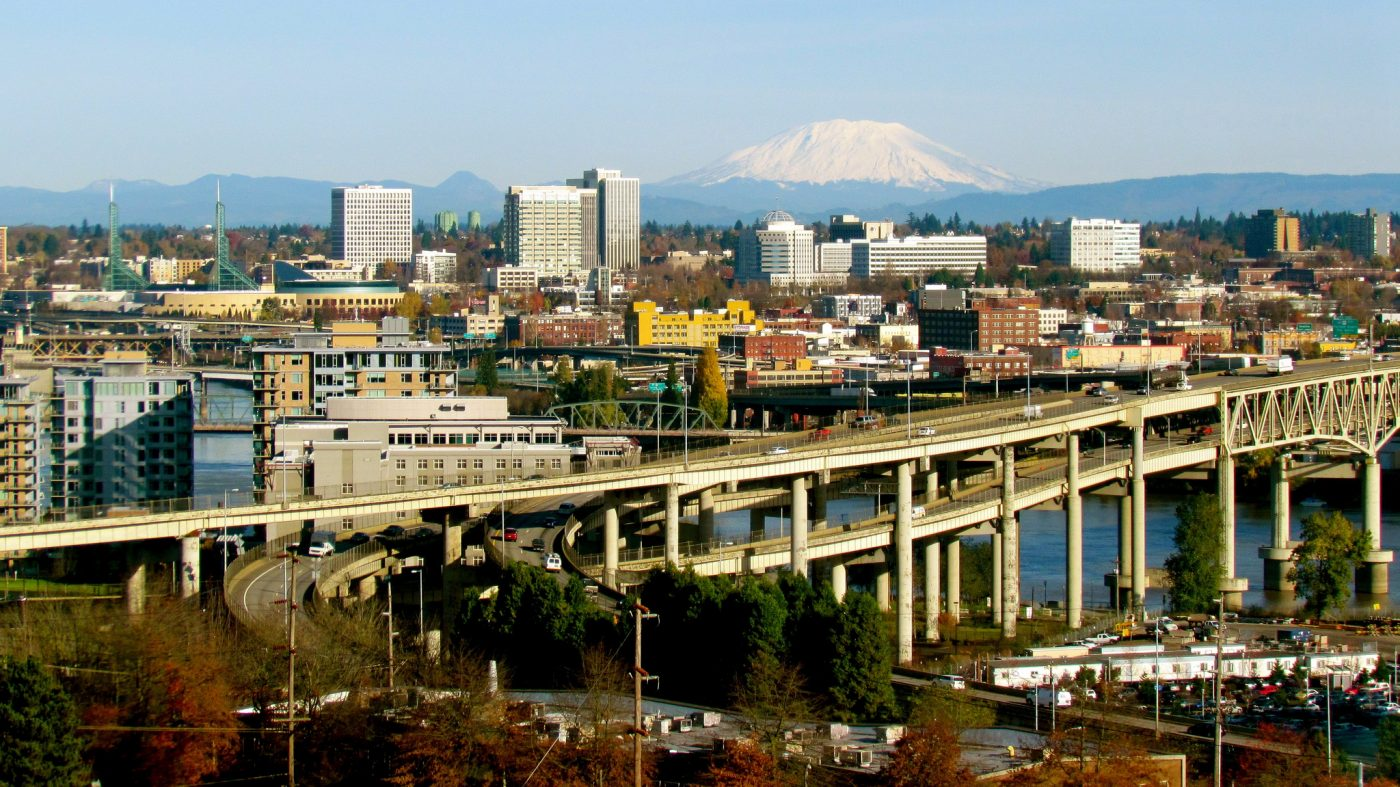 Things to do in Portland Oregon: Cityscape of Portland