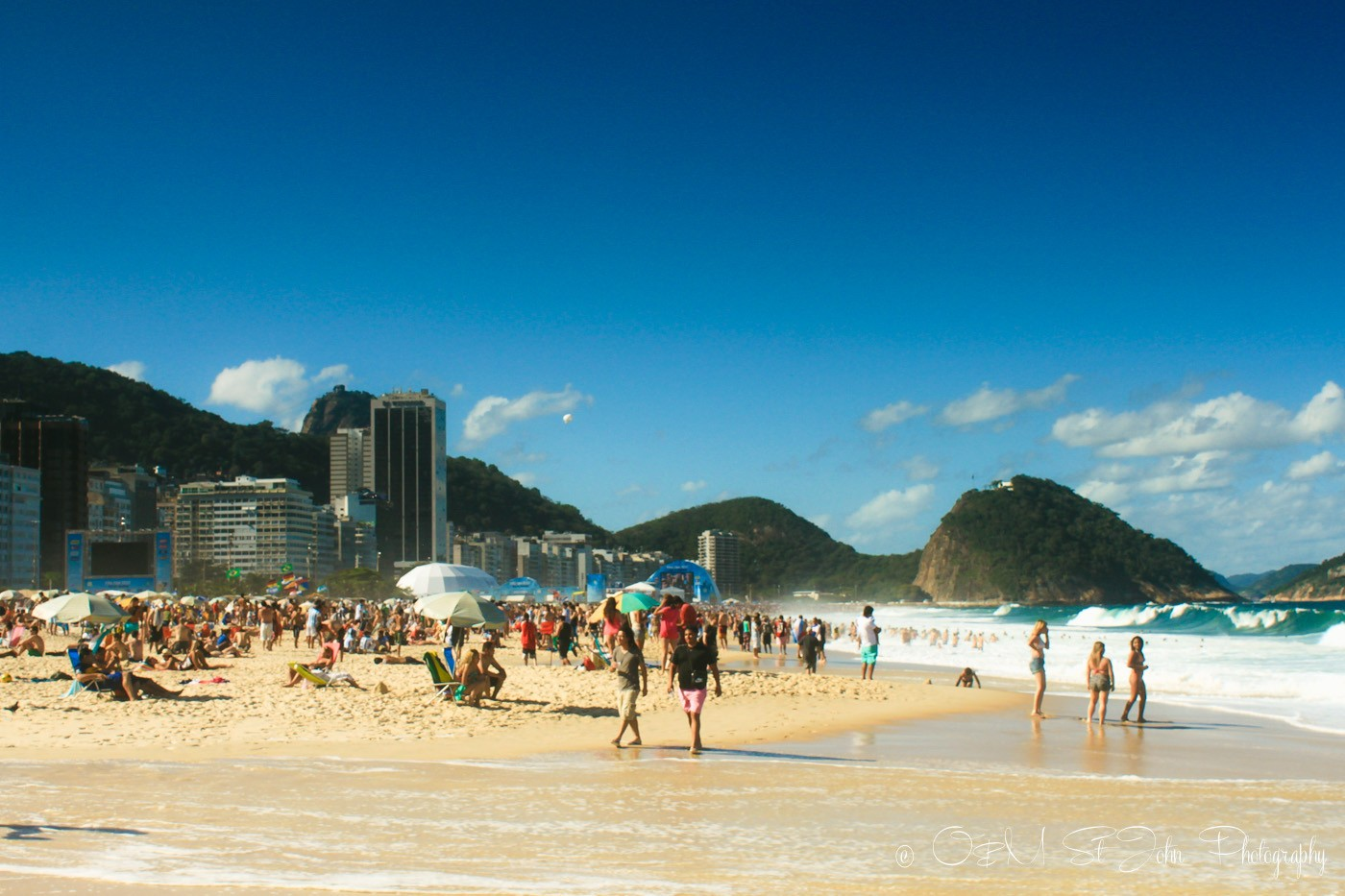 Hike to Christ the Redeemer: You can get a shuttle bus from Copacabana Beach to Christ the Redeemer.