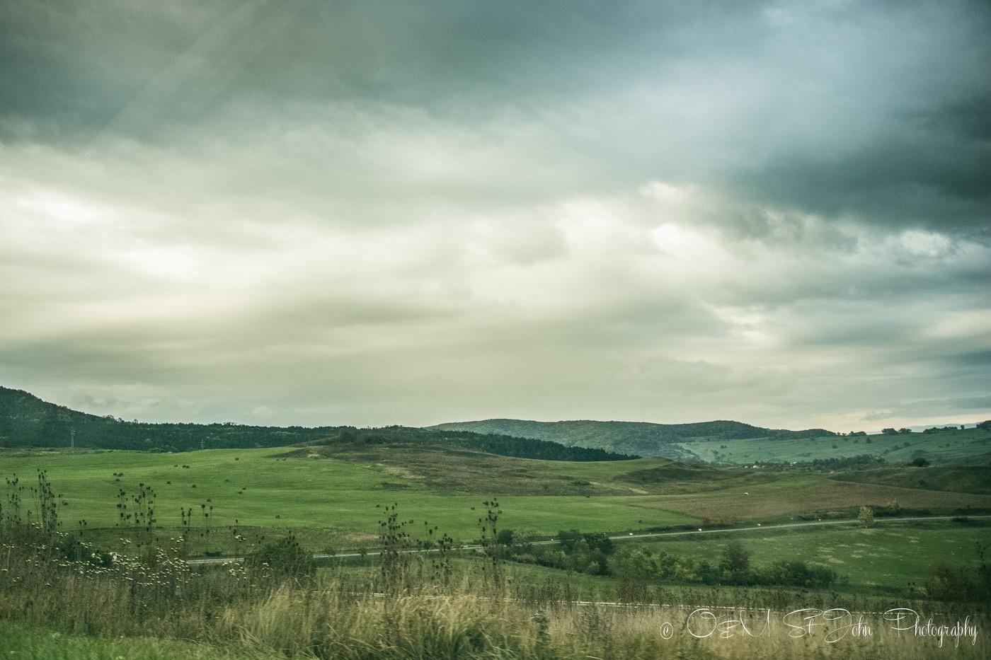 Maramures countryside. Romania