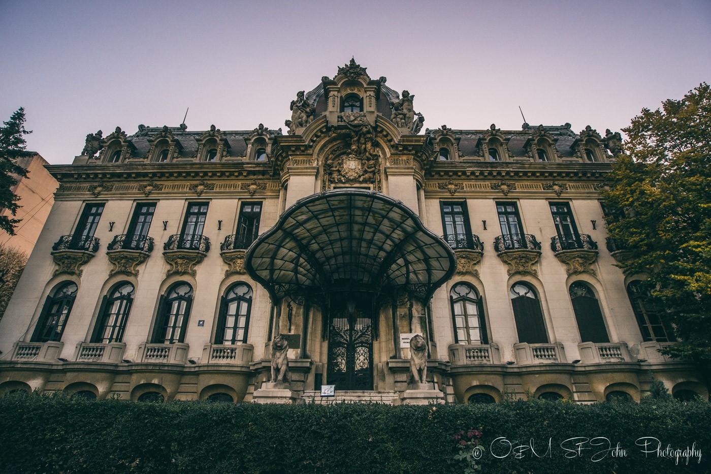 "The National Museum ""George Enescu"". Bucharest. Romania"