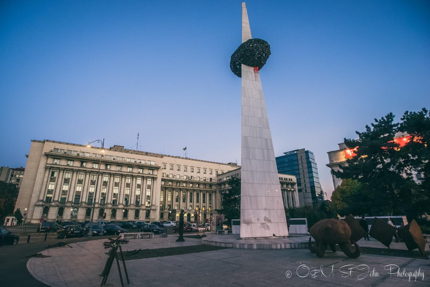 Revolution Square, Bucharest. Romania