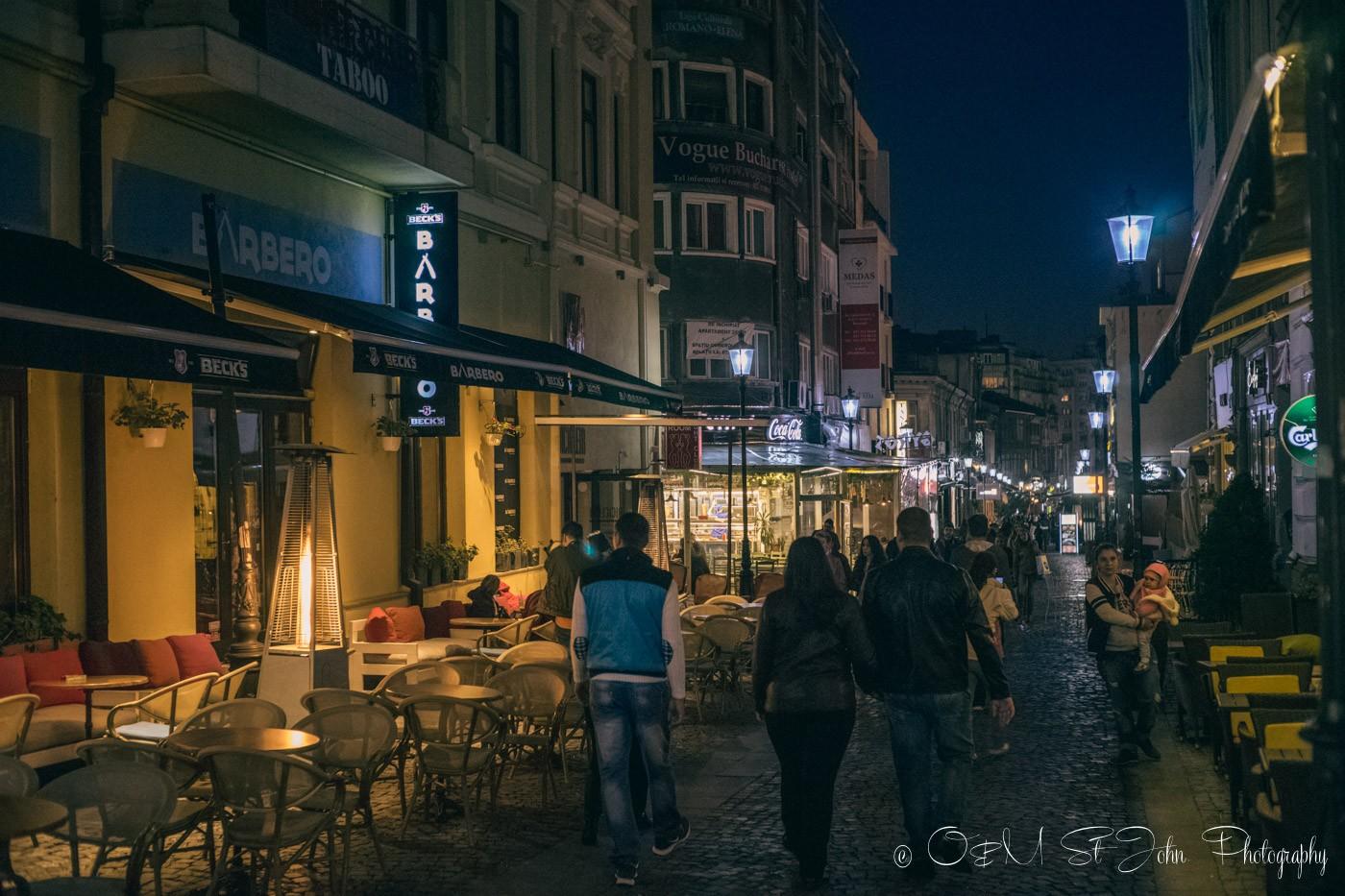 Old Town, Bucharest. Romania
