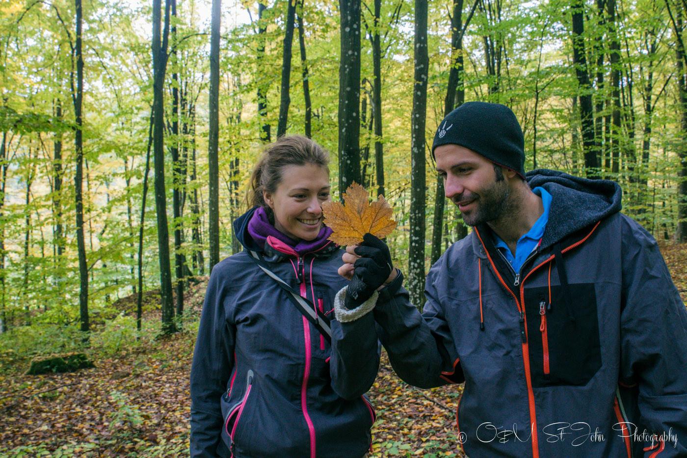 Max & Oksana in Maramures. Romania