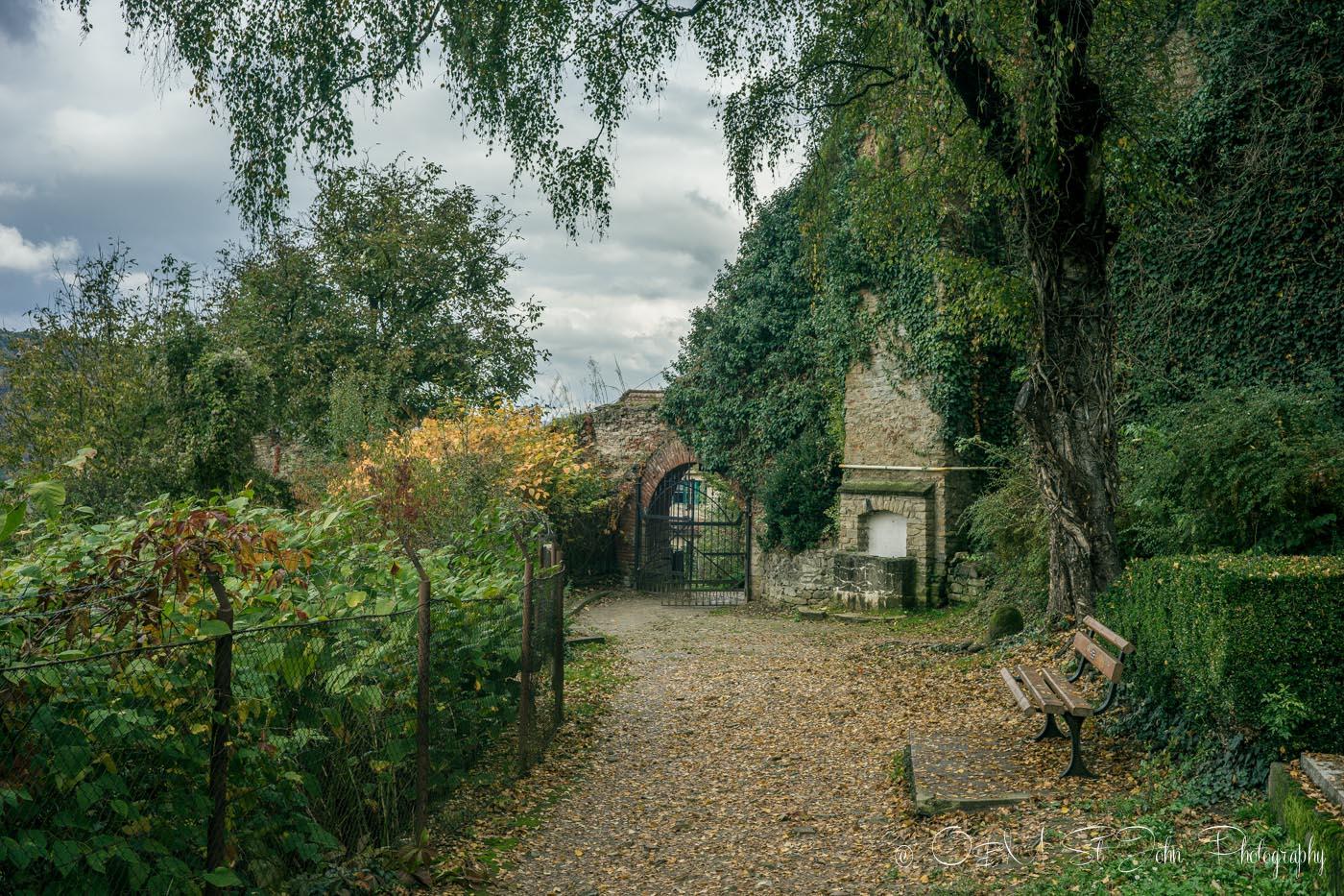 Entrance to the Sighisoara Cemetery, Romania