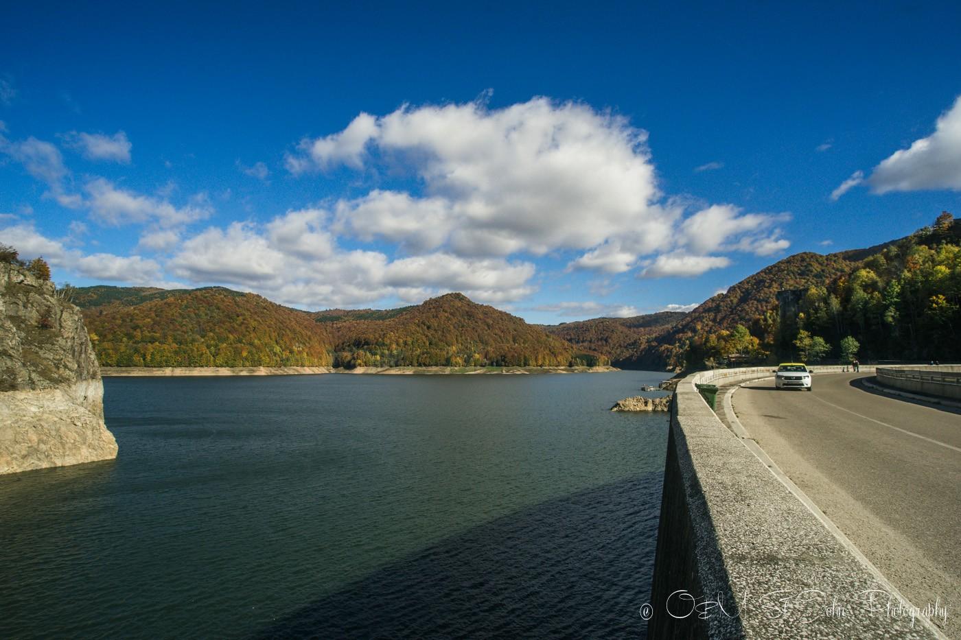 Vidraru Dam, Transfagarasan, Romania