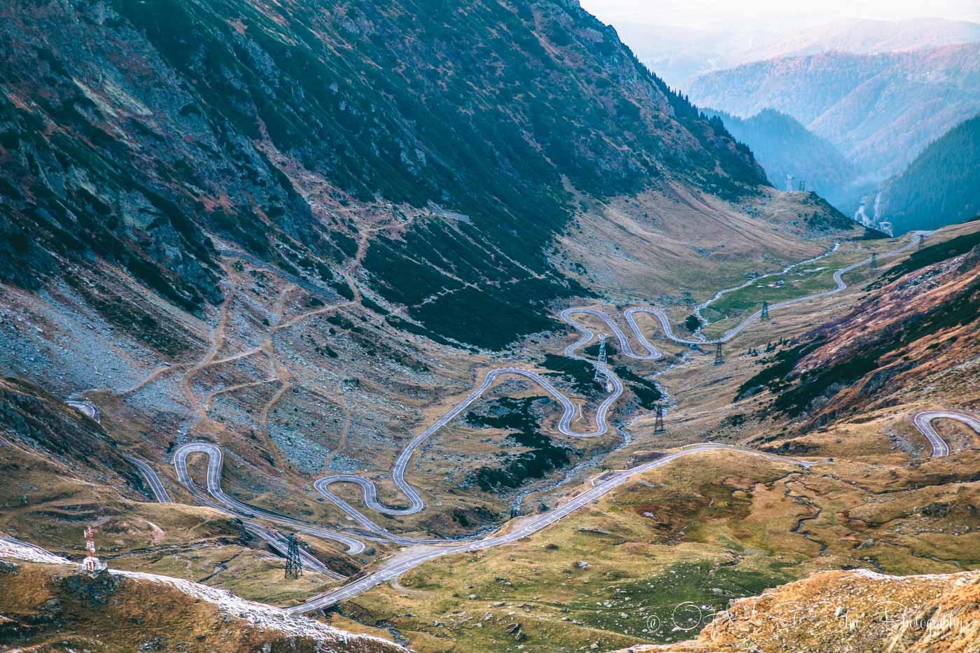 Transfaragasan Highway. Best roadtrip in Romania