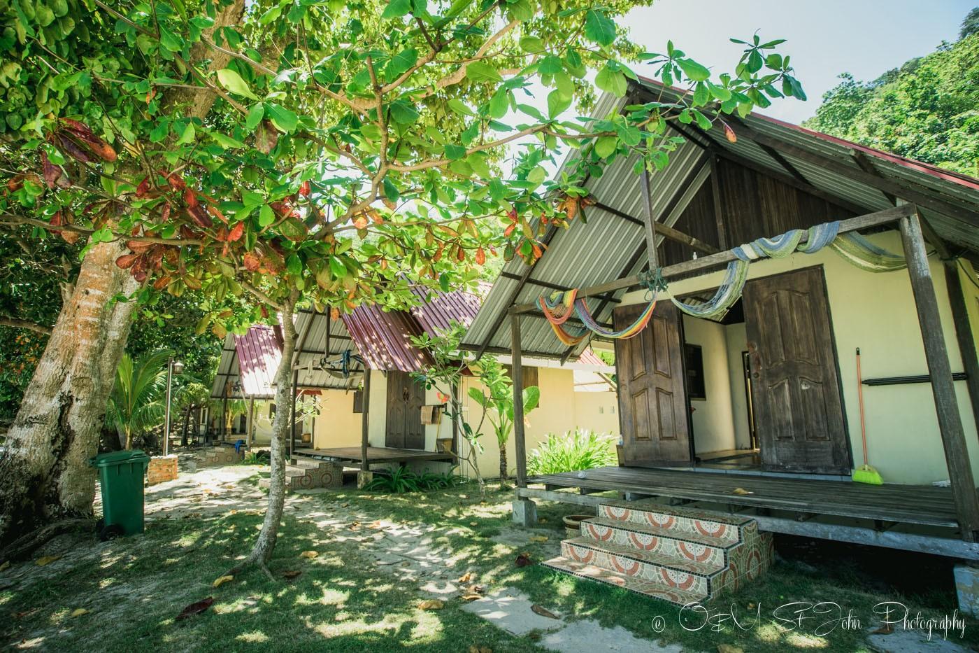 Villas at Mañana Borneo Resort. Sabah. Malaysia