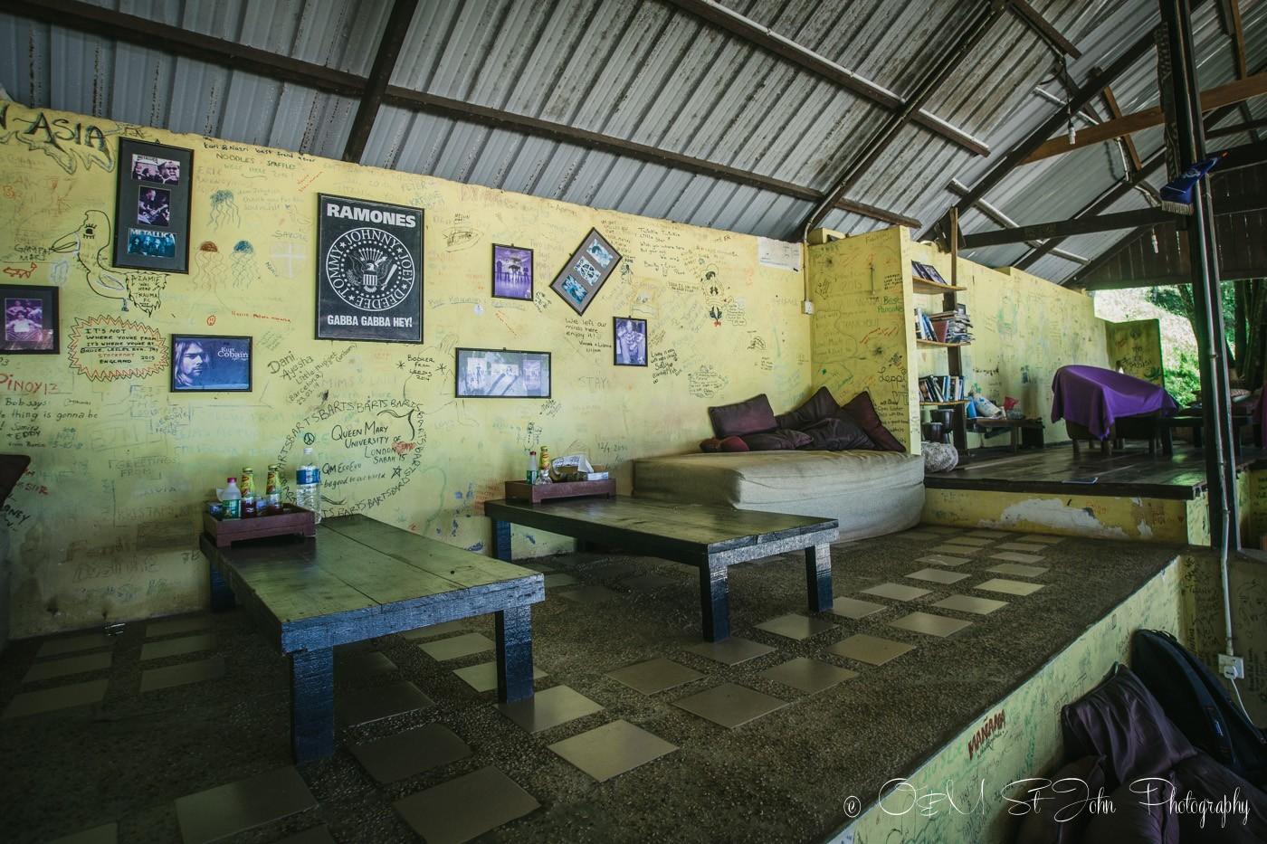Common room in Mañana Borneo Resort. Sabah. Malaysia