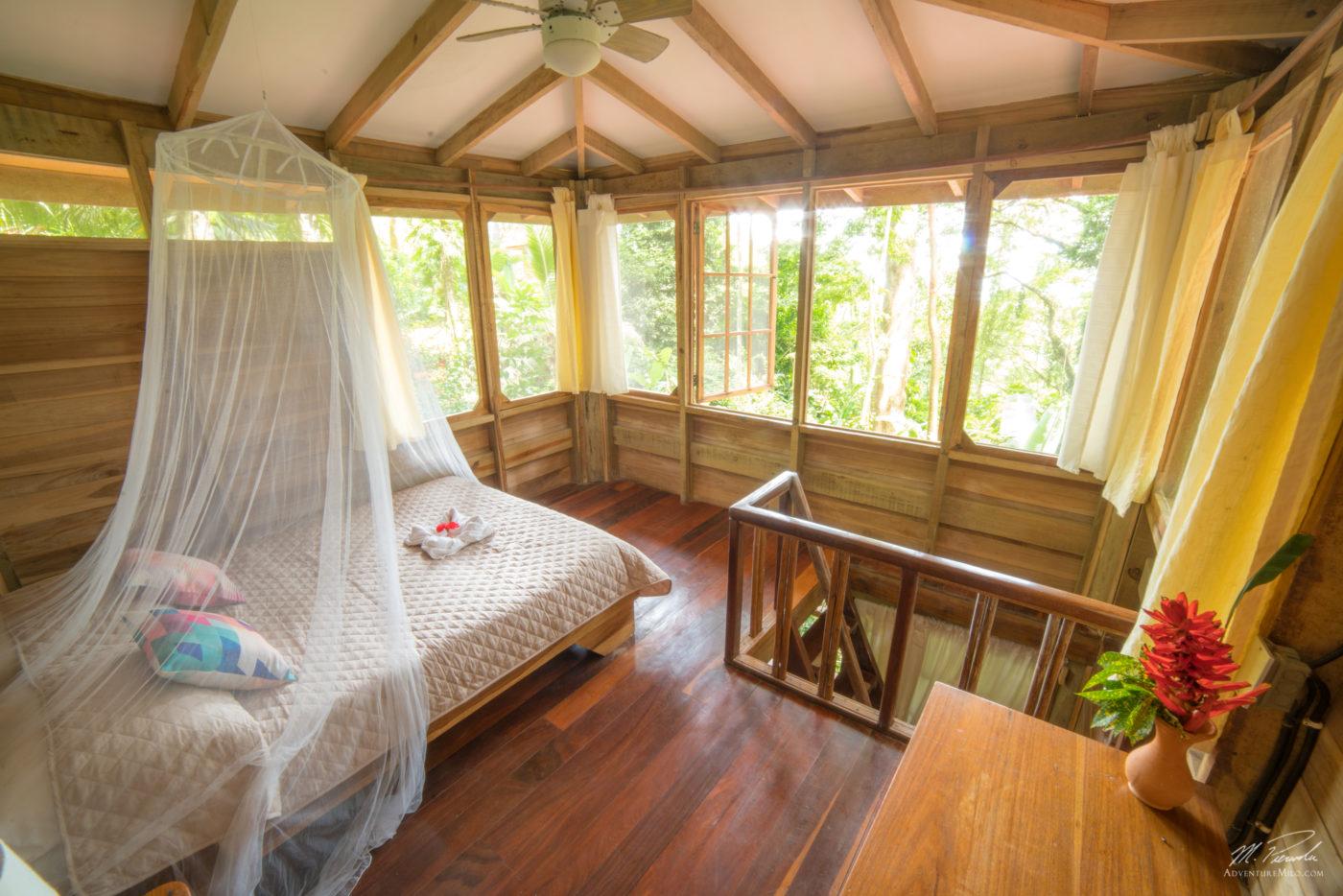 Casita at the Samasati Retreat and Rainforest Sanctuary. Photo via Samasati