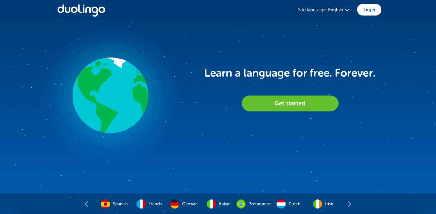 Learning Spanish with Duolingo
