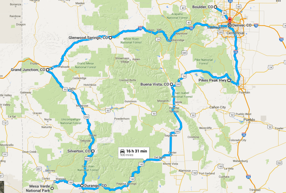 Colorado road trip: Ultimate Colorado Road Trip Itinerary
