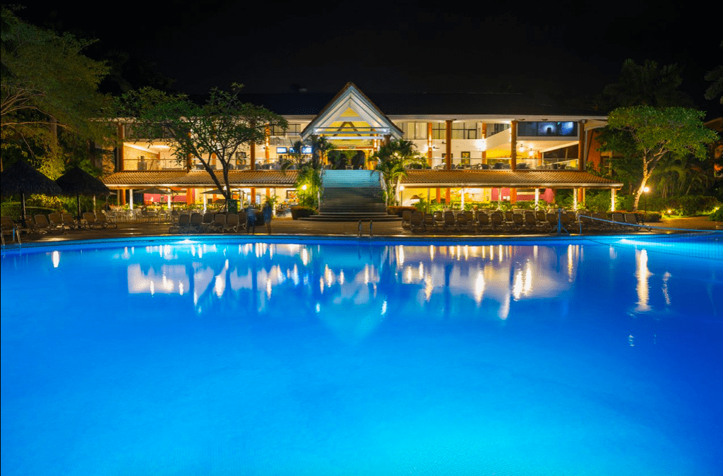 Pool view from all inclusive resort Occidental Tamarindo Costa Rica