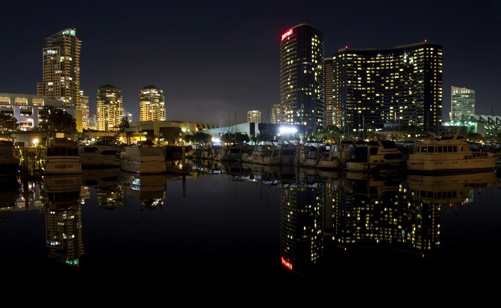 Seaport Village reflections