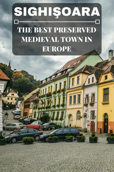 Sighişoara - the Best Preserved Medieval Town in Europe