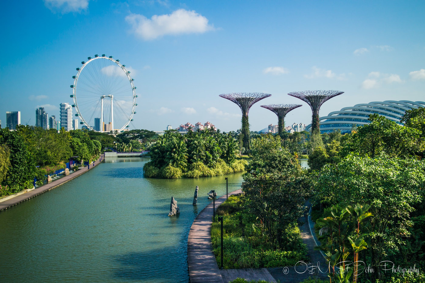 top eco-friendly destinations: Gardens by the Bay. Singapore