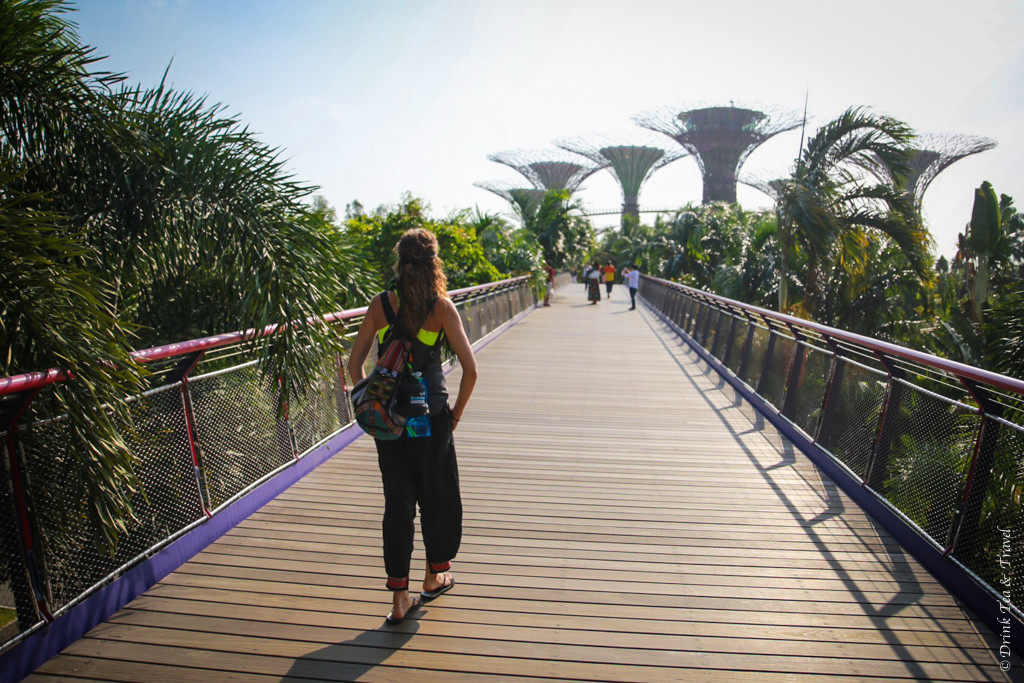 Stopover in Singapore: Exploring Singapore with nothing more than a little backpack!