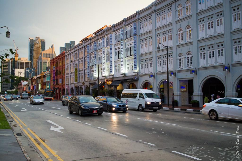 Stopover in Singapore: New Bridge Road, Singapore