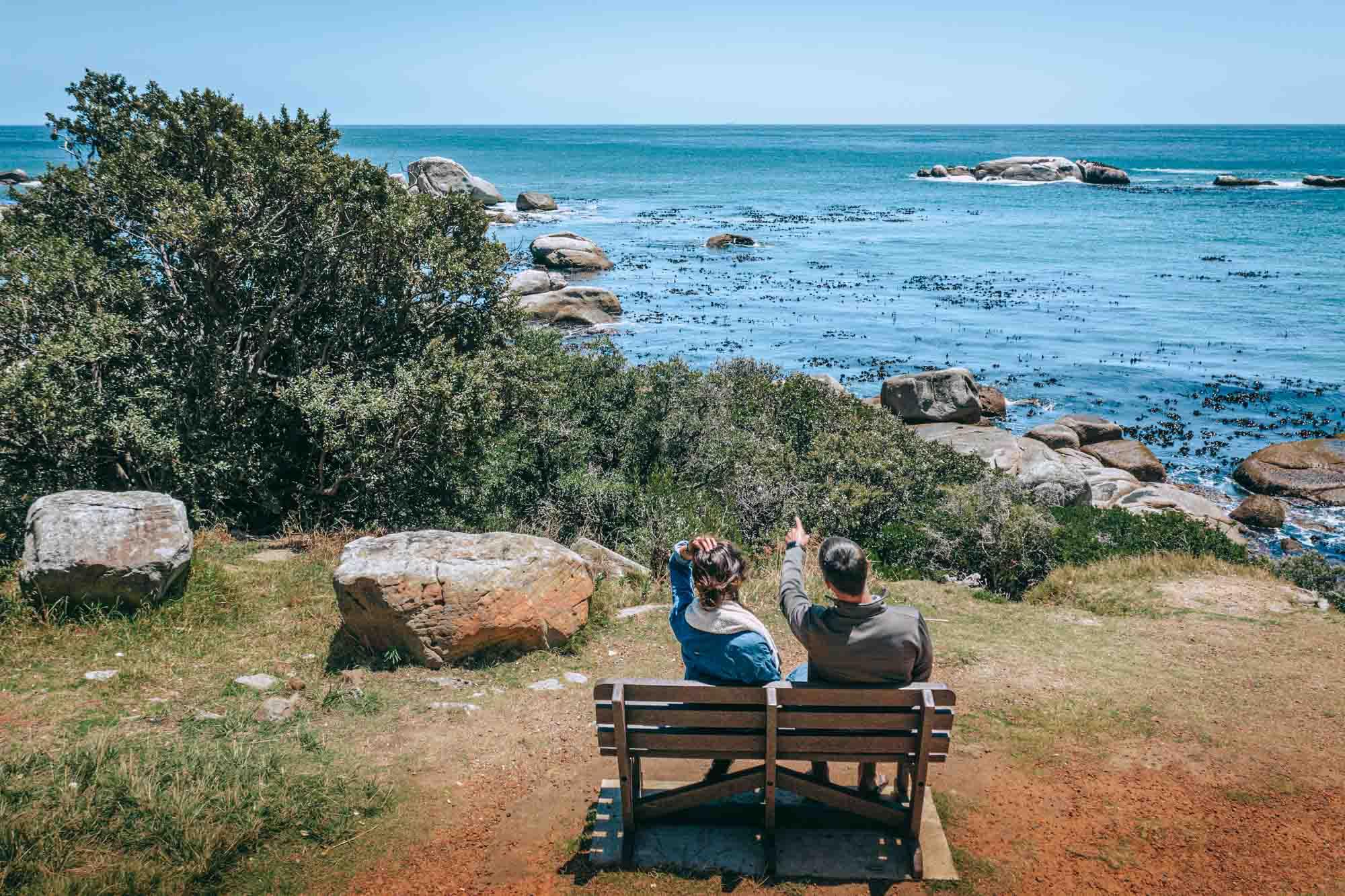 Chapman's Drive, Cape Town en route to Cape of Good Hope