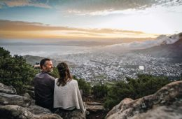Overlooking Cape Town, South Africa