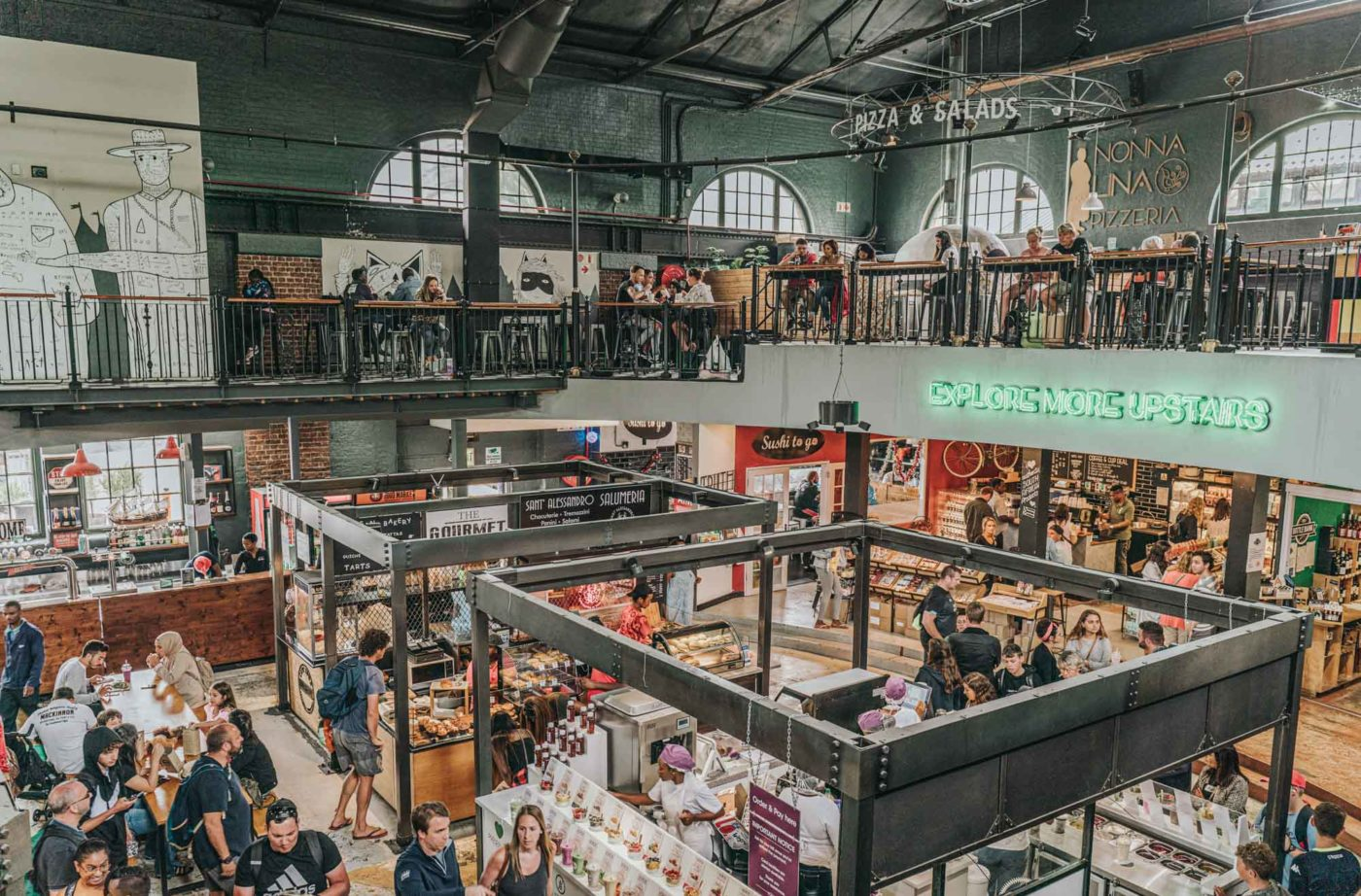 V&A Waterfront Food Market, Cape Town
