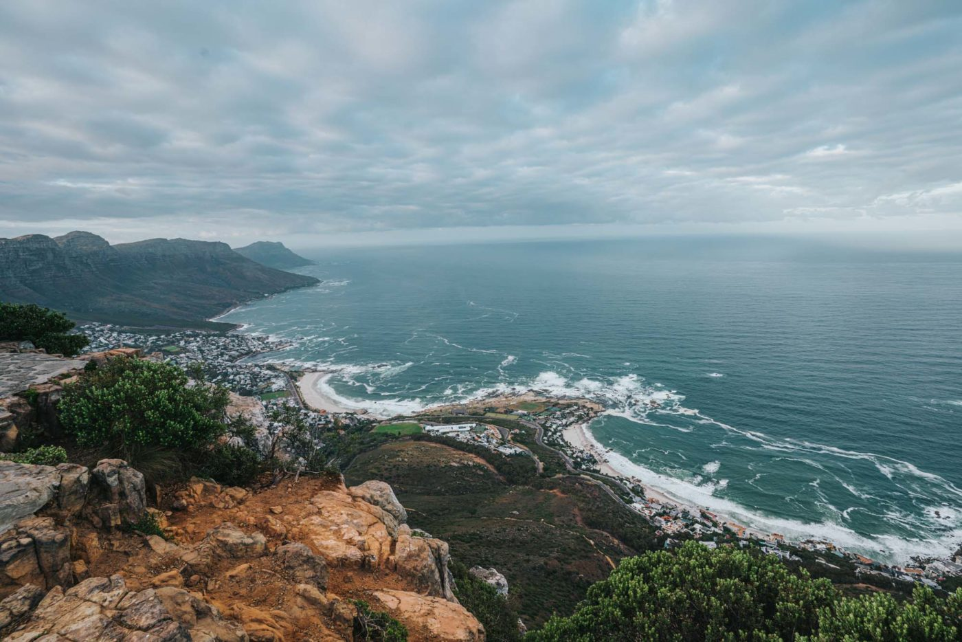 Camps Bay and Clifton Beach, Cape Town