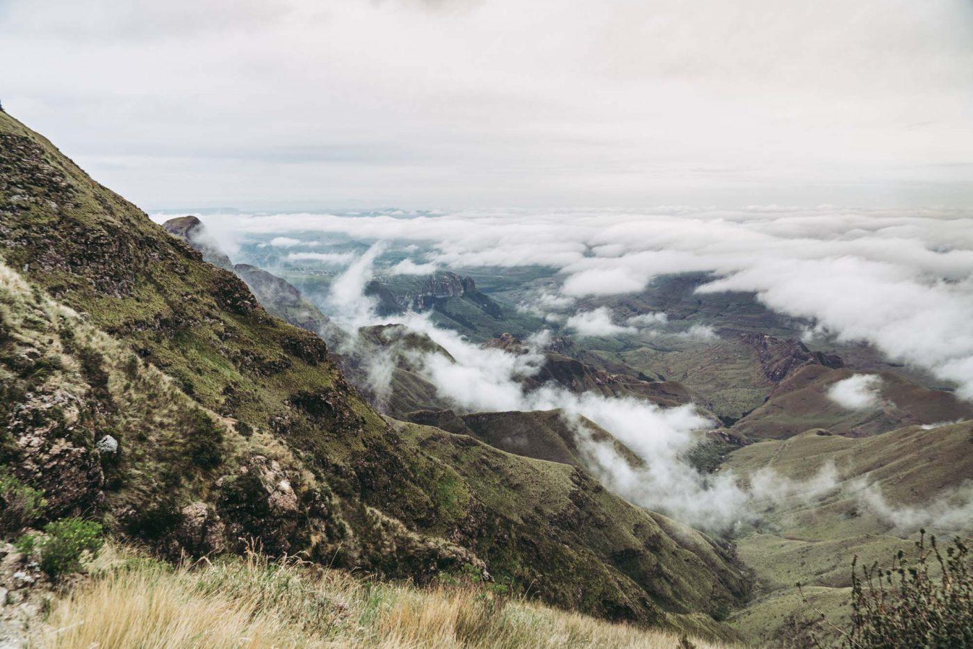 Tugela falls hike, Sentinel peak, Drakensberg