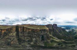 Tugela Falls, Amphitheater, Sentinel Peak, Drakensberg