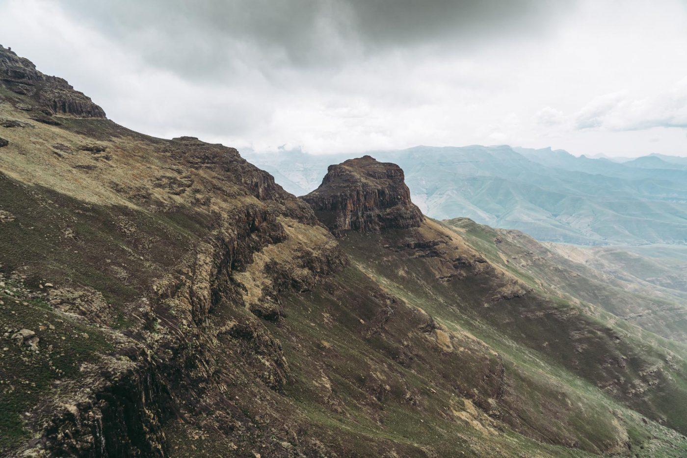 Tugela Falls, Drakensberg, Sentinel peak hike
