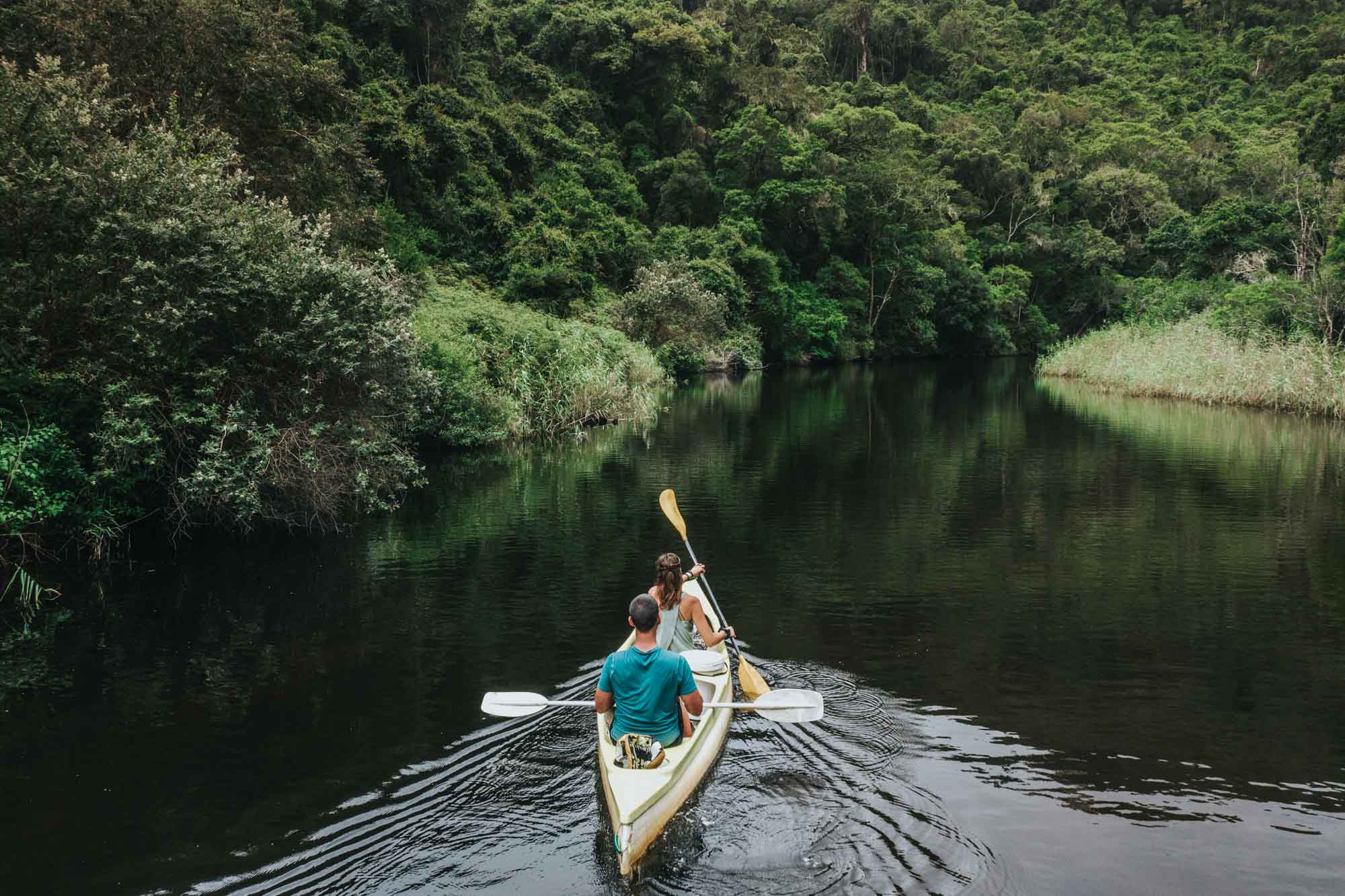 Canoeing in Wilderness National Park, Garden Route, South Africa