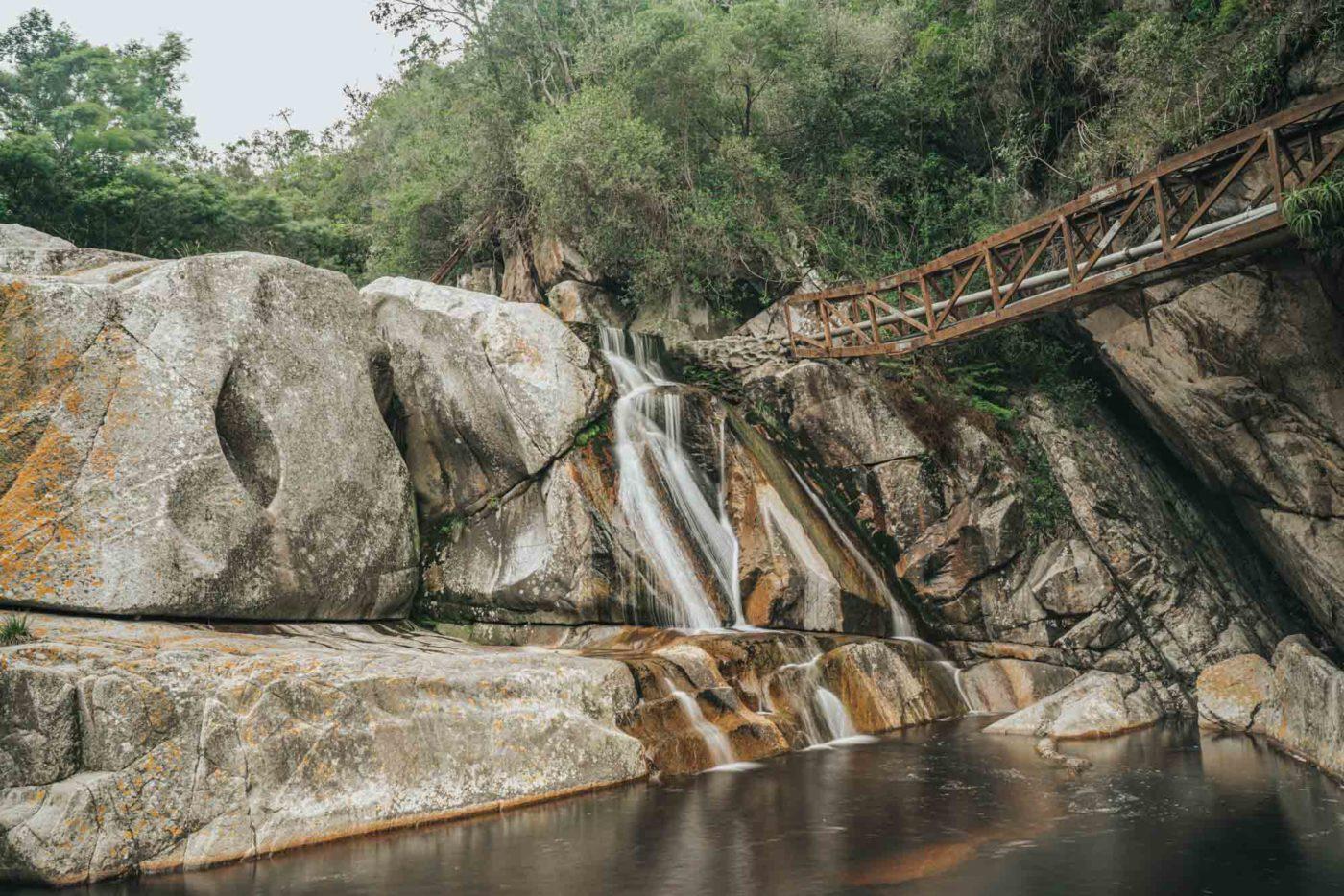 Waterfall in Wilderness National Park, Garden Route