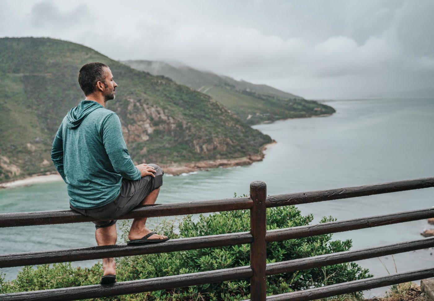 Overlooking Knysna Bay from Knysna Heads
