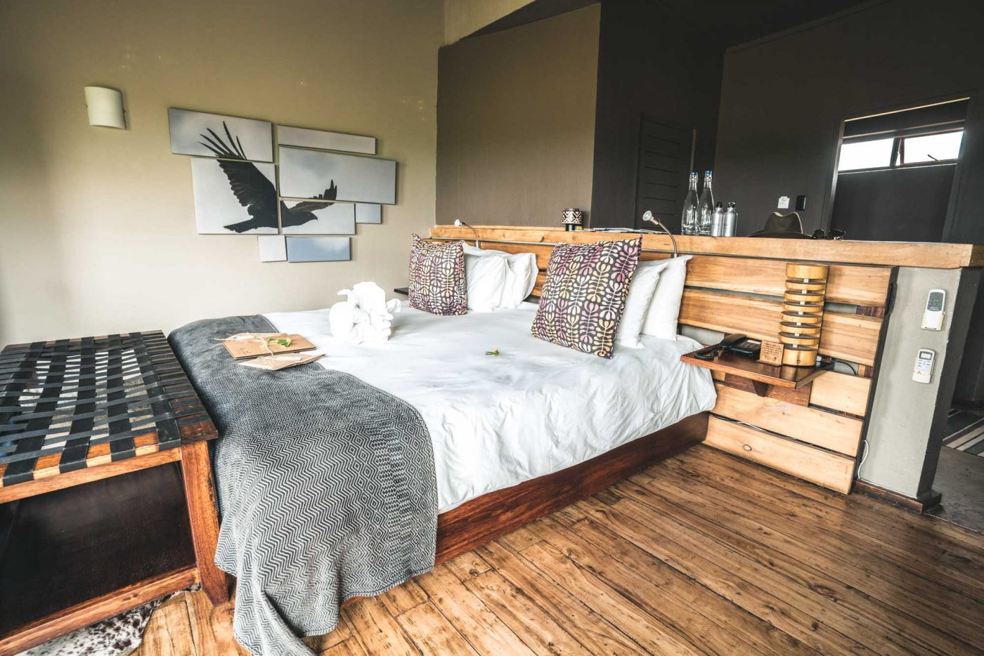 Safari Room at Rhino Ridge Safari Lodge