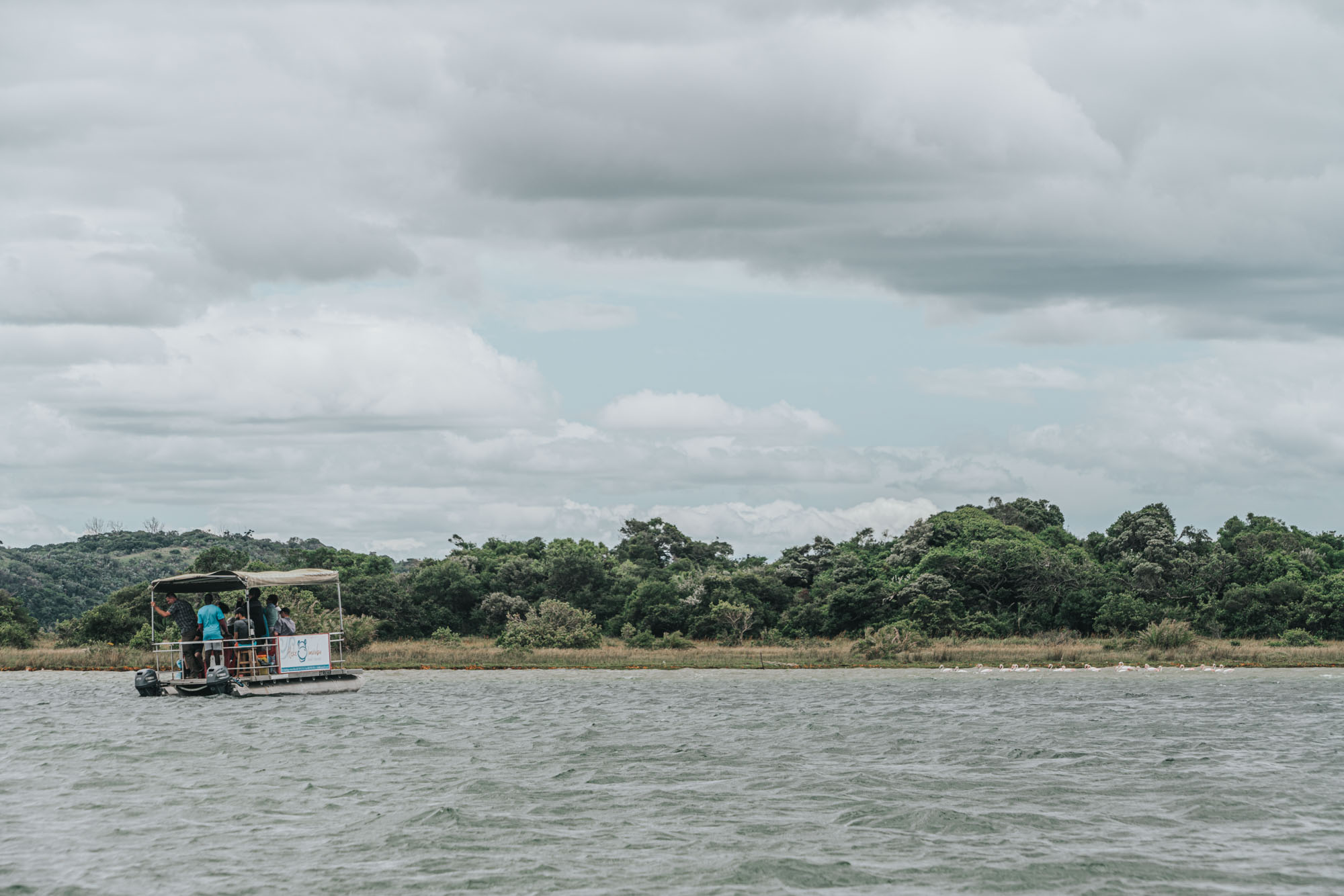 Boat tour in Kosi Bay,