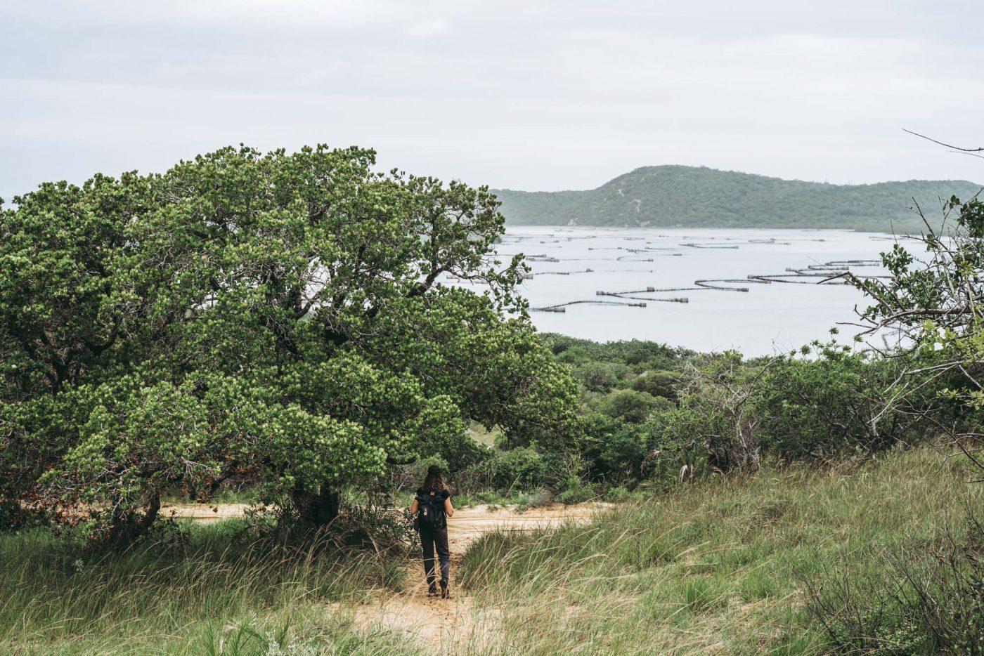 Overlooking Kosi Bay