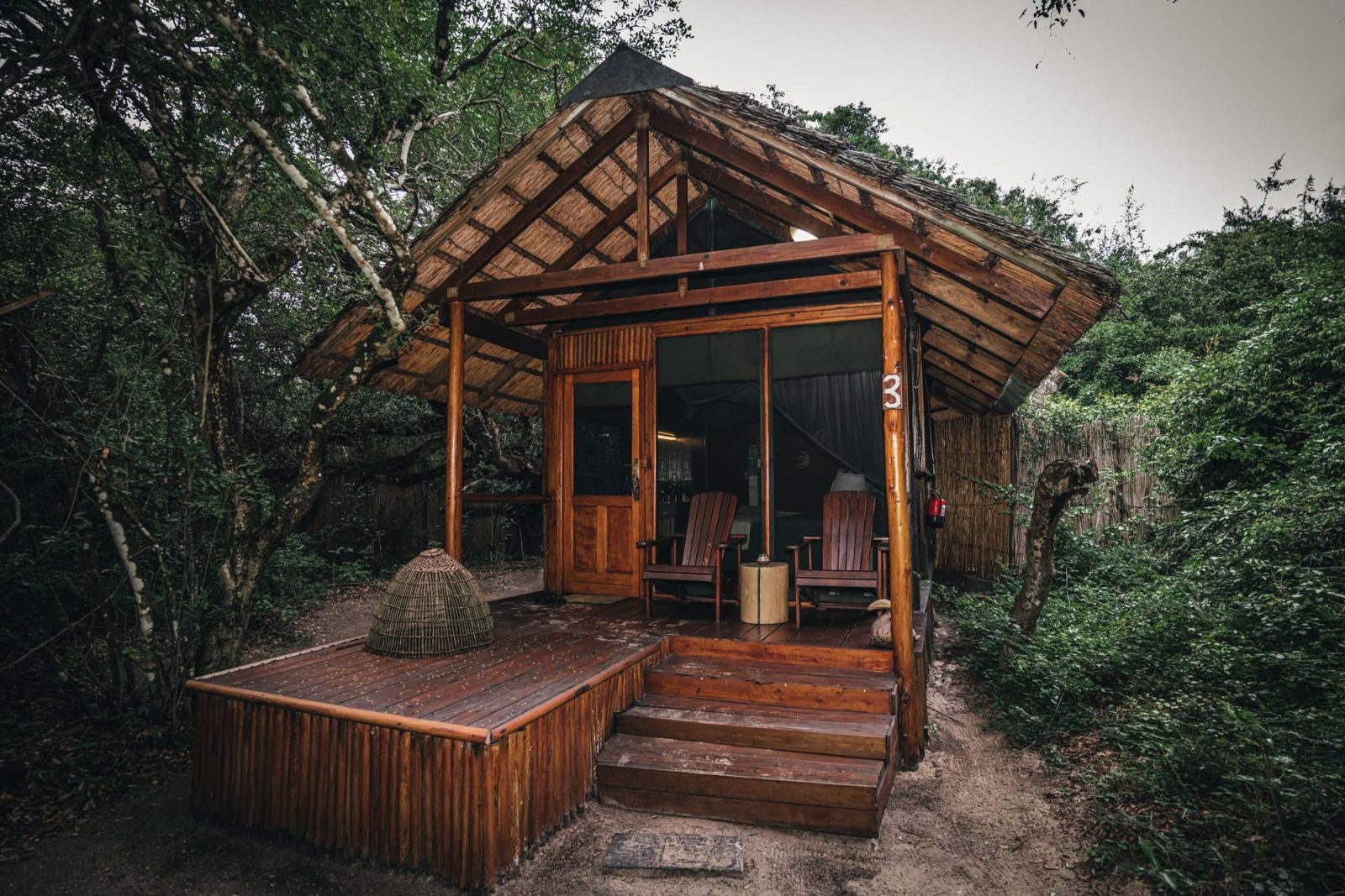 Kosi Forest Lodge, Kosi Bay, iSimangaliso Wetland Park, South Africa