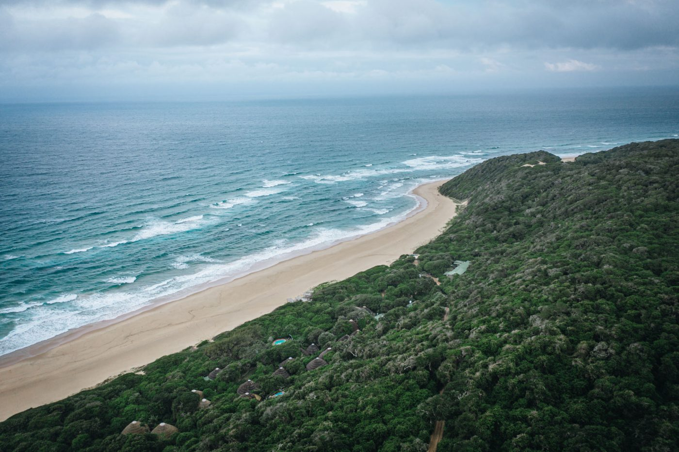 Mabibi Beach, one of the main attractions at Thonga Beach Lodge