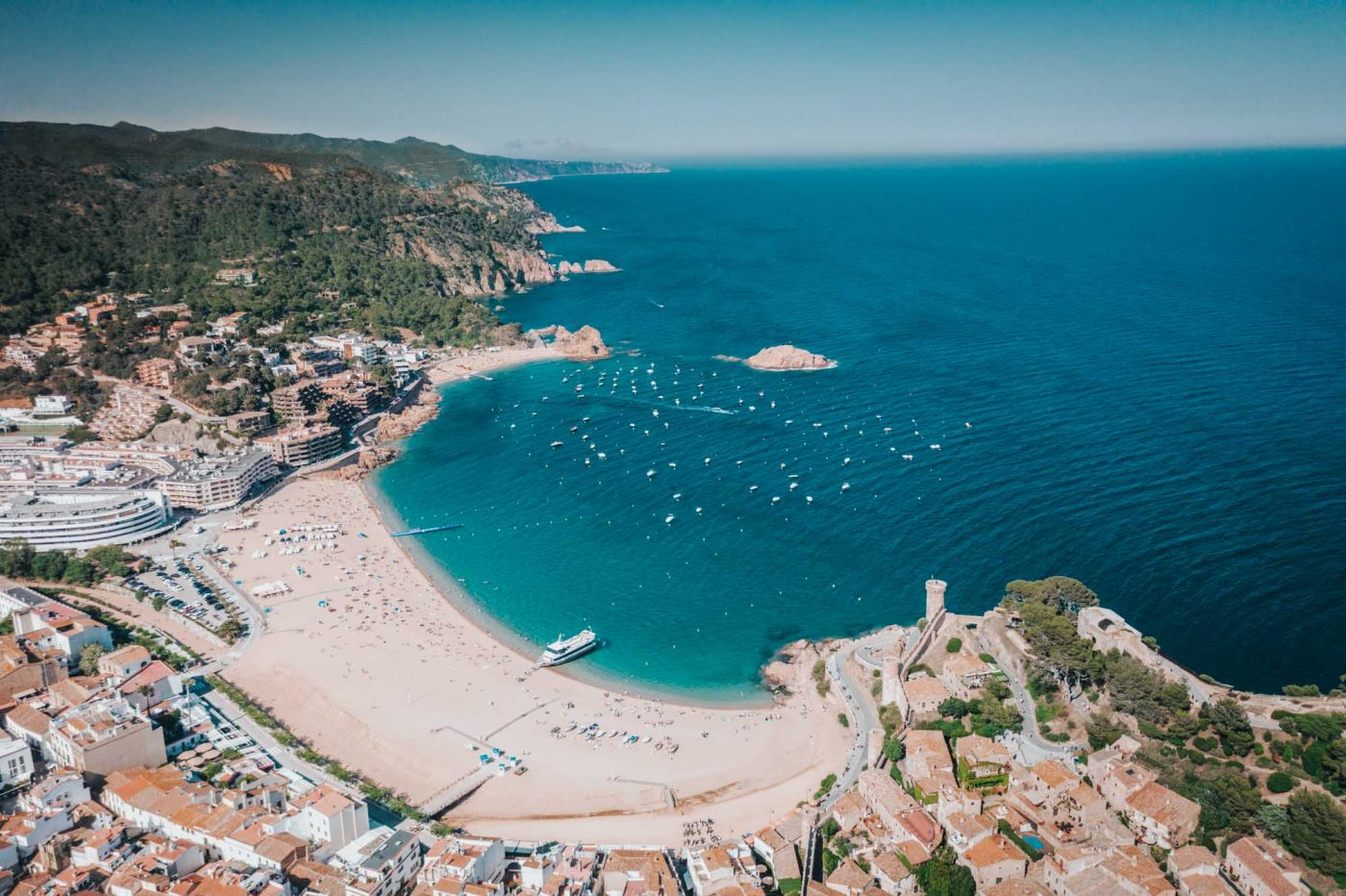 Day trips from Barcelona: Tossa de Mar, Costa Brava