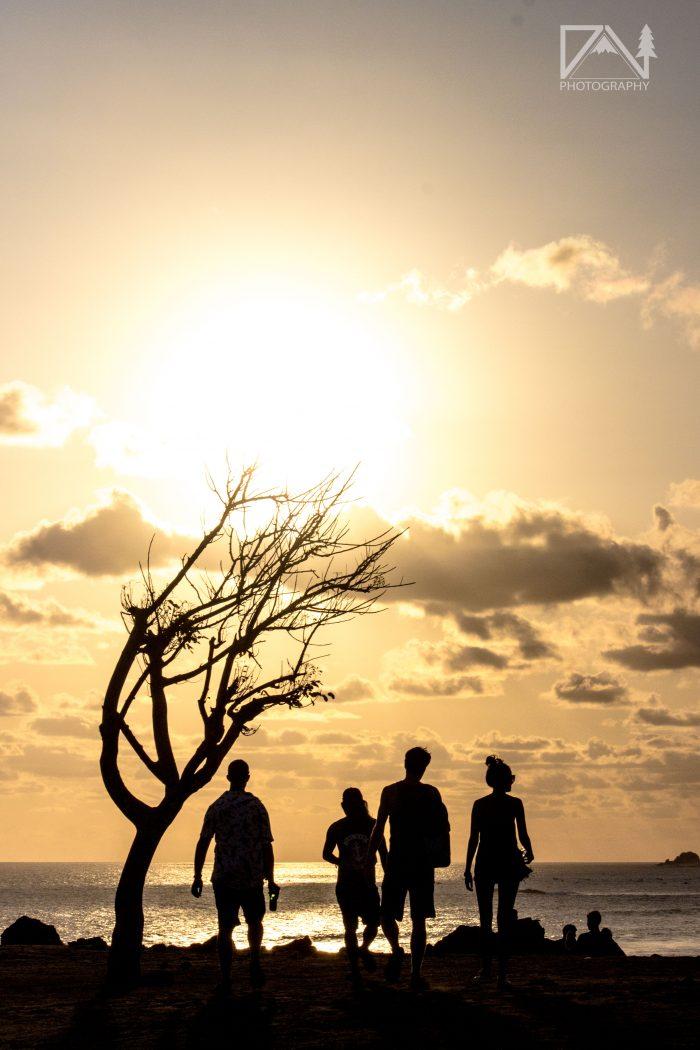 places to watch the sunset: Sunset Point Kuta Lombok