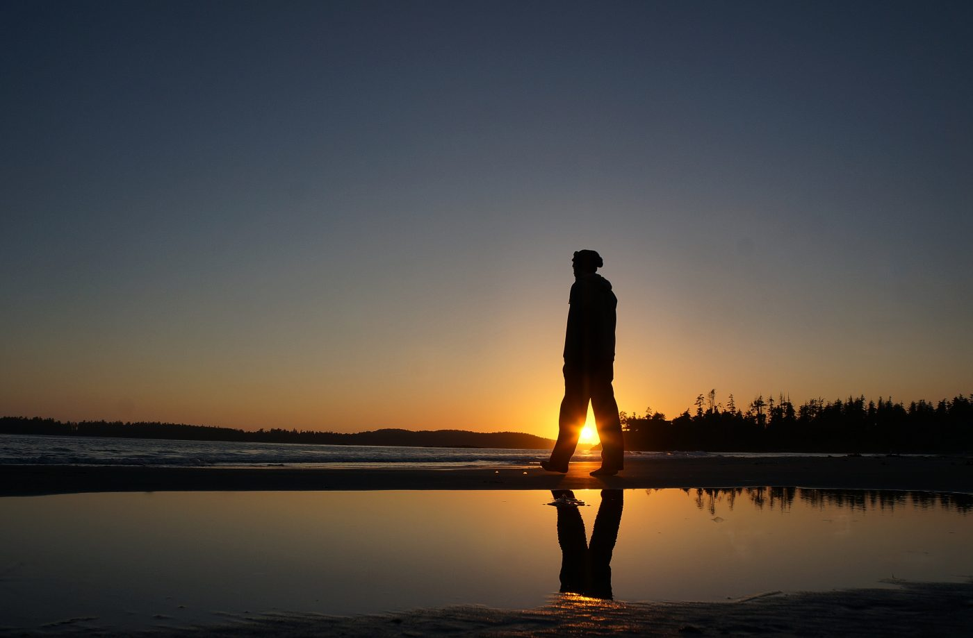 places to watch the sunset: Sunset Strolls In Tofino