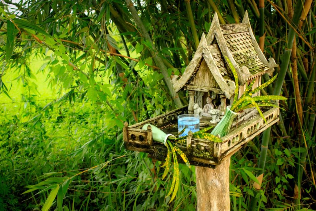Spirit house in Thailand