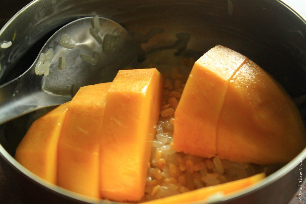 Mango Sticky Rice, Thai Farm Cooking School