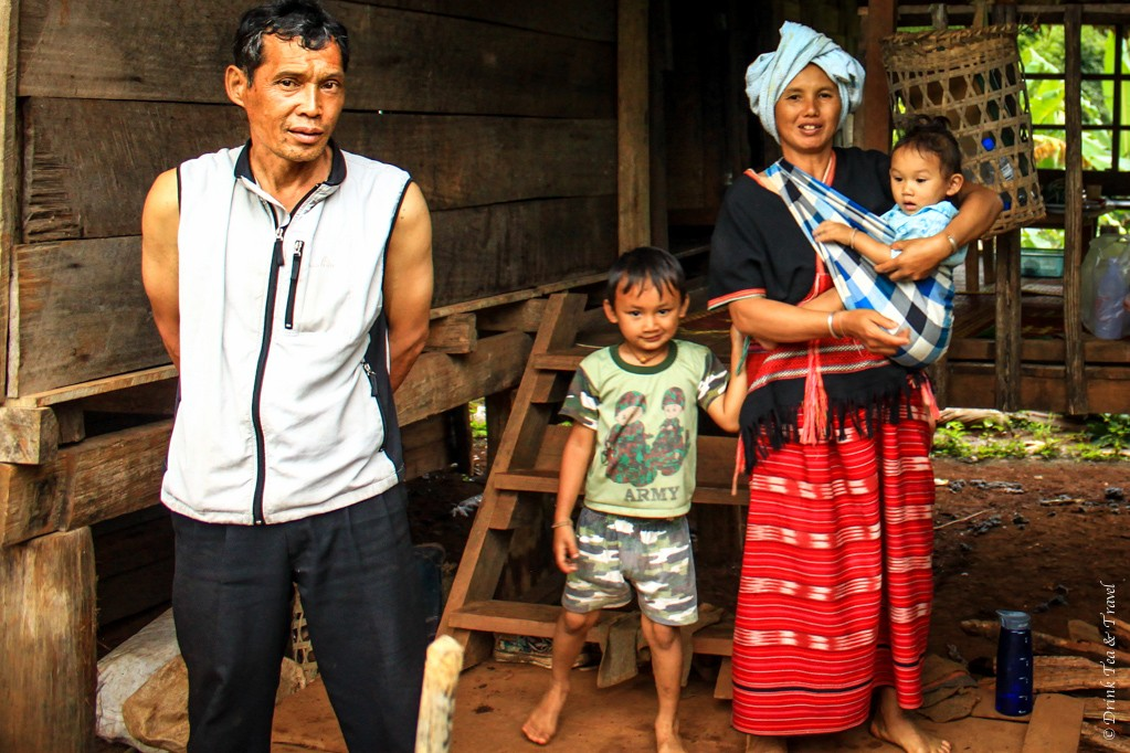Our Lahu hill tribe village host family