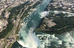 Fall Weekend Getaways for Eco-Conscious Couples in North America- Niagara falls Ontario Canada