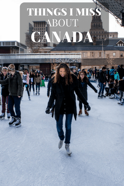 This Christmas I visited Canada with a different perspective, one of a traveler curious to discover and to appreciate all the things I once loved...