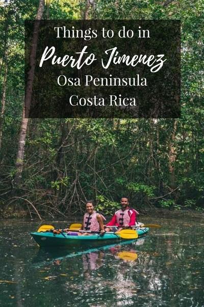 Things to do in-Puerto Jimenez, Osa Peninsula, Costa Rica