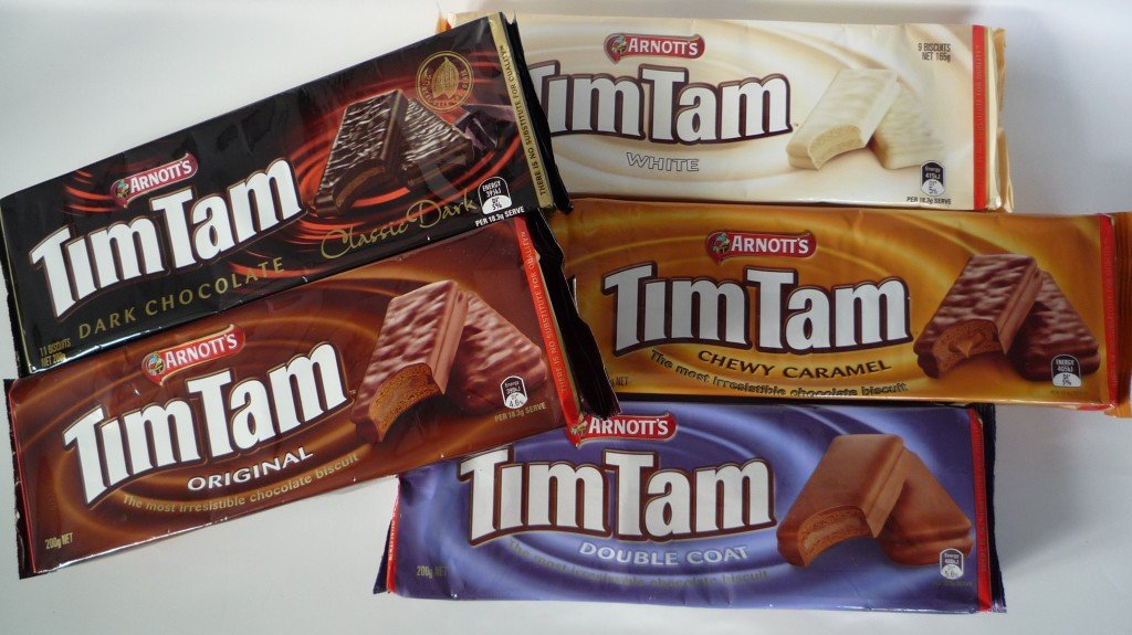 Food to try in Australia: Tim Tams by Arnotts