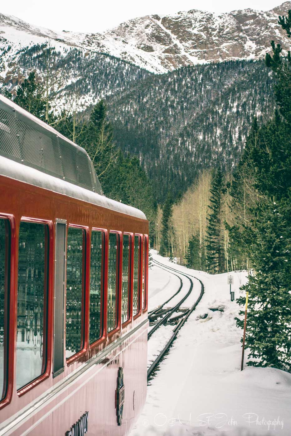 Colorado road trip: Cog Train
