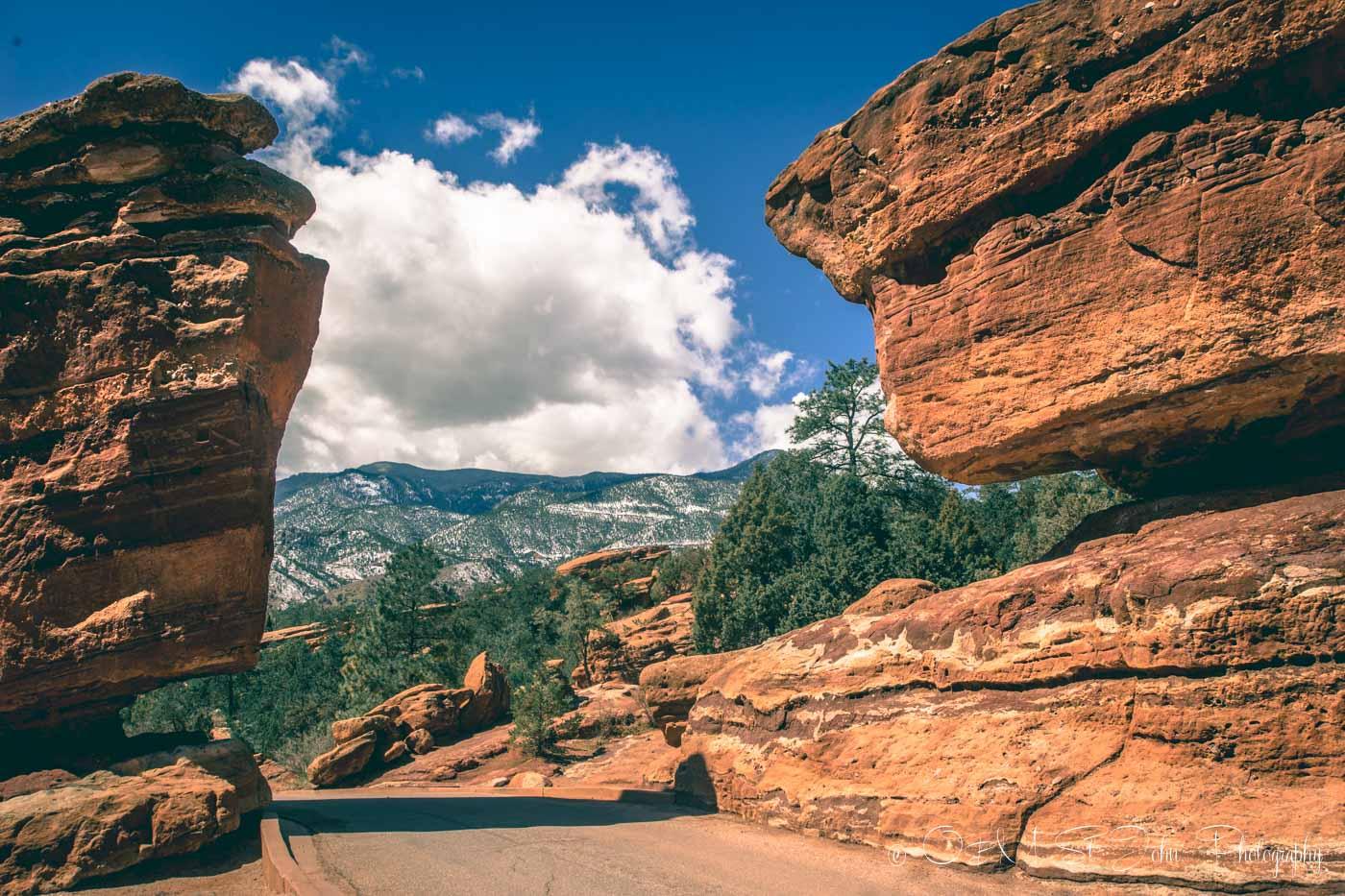 Colorado road trip: Garden of the Gods, Colorado Springs. USA. Road Trip