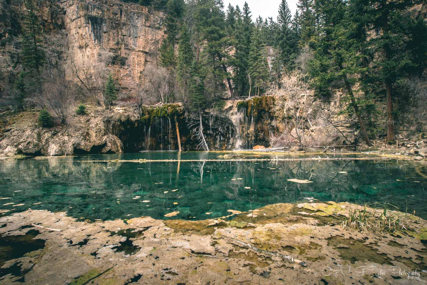 Hanging Lake, Colorado. road trip USA