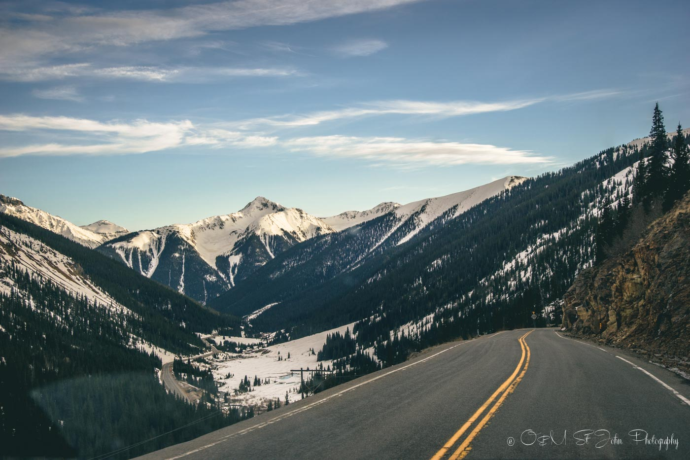Colorado road trip: Along the Million Dollar Highway in Colorado, USA